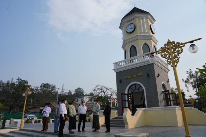 9 4 2021 MOHT Minister kyaing tong Trip Photo 5 p12