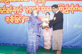 2019 Pakokku U Ohn Pe Literary Awards handed to nation's writers