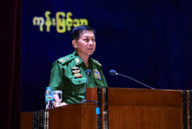 Tatmadaw cannot accept a government that came to power through vote-rigging: Senior General