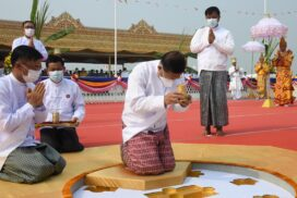 Maha Mingala ceremonies to lay cornerstones for building Maravizara Buddha Image