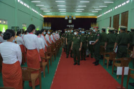 Individual acts and behaviours need to uplift prestige of the Tatmadaw: Senior General