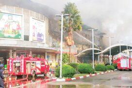Fires break out in Mandalay and Yangon Regions