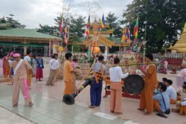 Sand Pagoda Festival held in Twantay