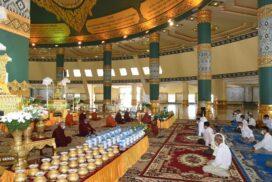 Maha Pathana recitation ceremony held at Upatasanti Pagoda in Nay Pyi Taw