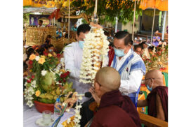 Consecration ceremony of Su Taung Pyae, Su Taung Ya pagodas held in Pyinmana