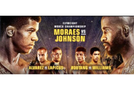 ONE Championship: Moraes to take on Johnson for Flyweight title tonight