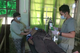 Military hospitals provide healthcare services to civilians
