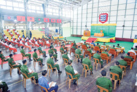 The Tatmadaw is taksing part in the leading role of national politics in accord with the 2008 Constitution: Senior General