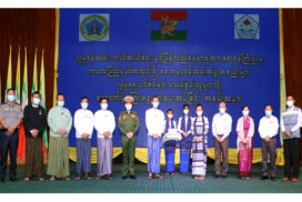 Union Minister attends support ceremony to elderly and persons with disabilities in Kayah State