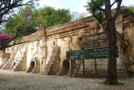 Govt conserves wall paintings at Tilawka Guru  Cave in Sagaing