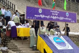 Fish species added into Ayeyawady river in Bhamo