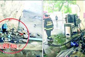 7 injured in homemade mine blast in Denko filling station