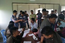 Repatriation process of displaced persons from Rakhine state to Bangladesh is underway