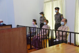 Trials begin for former President, State Counsellor, Nay Pyi Taw Council Chairman
