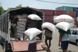Rice prices spike up on local demand