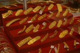 Domestic gold price hits only over K1.57 mln despite rising of global gold price