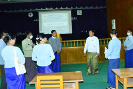 Central institute of civil service (upper Myanmar) to  reopen training courses