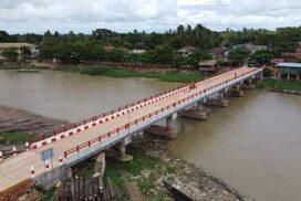 K400-mln Thanatpin-Kyaungsu bridge opened to rural community in Bago Region