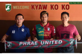 Thai club Phrae United signs Myanmar striker Kyaw Ko Ko