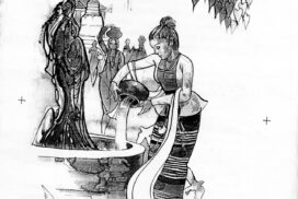 Kason: the month of the festival of pouring water on the Bodhi tree