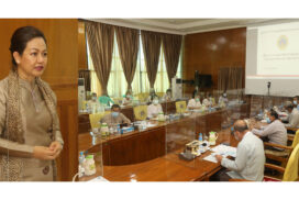 MoSWRR organizes meeting on work plans to be implemented with National Natural Disaster Management Funds