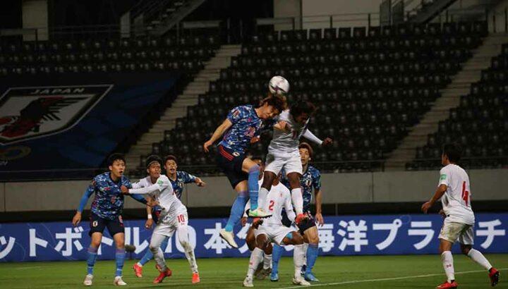 Myanmar vs Japan match sskm