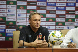 Good experience for our players: Myanmar football coach Hey