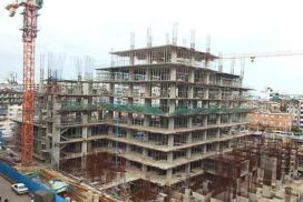 Construction of new Mingalar Market completed 63%