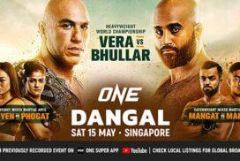 Brandon Vera to defend ONE Heavyweight title against Arjan Bhullar today