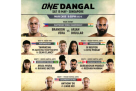 ONE Championship: DANGAL Fights to be launched on 15 May