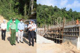 Border affairs minister inspects regional development works in Taninthayi region