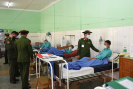 Tatmadaw provides treatments to over 180,000 outpatients