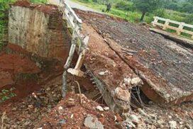 Terrorists destroy two bridges in Kayah State