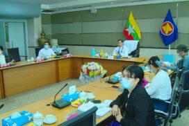 Myanmar delegation participates in 22nd ASEAN SCI meeting
