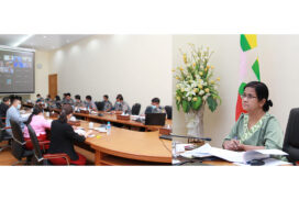 Asia-pacific joint group (AP JG) convenes meeting on progress of Myanmar anti-money laundering and counter-financing activities