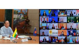 24th ASEAN+3 AFMGMs' Meeting convened virtually