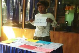 One man arrested for anti-State slogans at school front in Mandalay