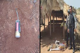 Explosives seized in Sagaing Region