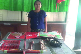 Weapons and materials to be used in terrorist attacks seized in Yekyi, Pyinmana