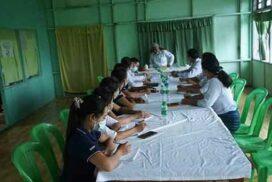 Deputy Minister U Ye Tint inspects IPRD, MRTV Retransmission Stations in Mandalay, Sagaing