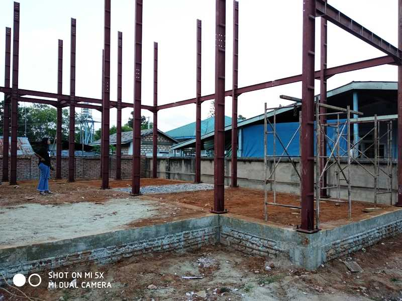 Two Storey Steel+Concrete Building