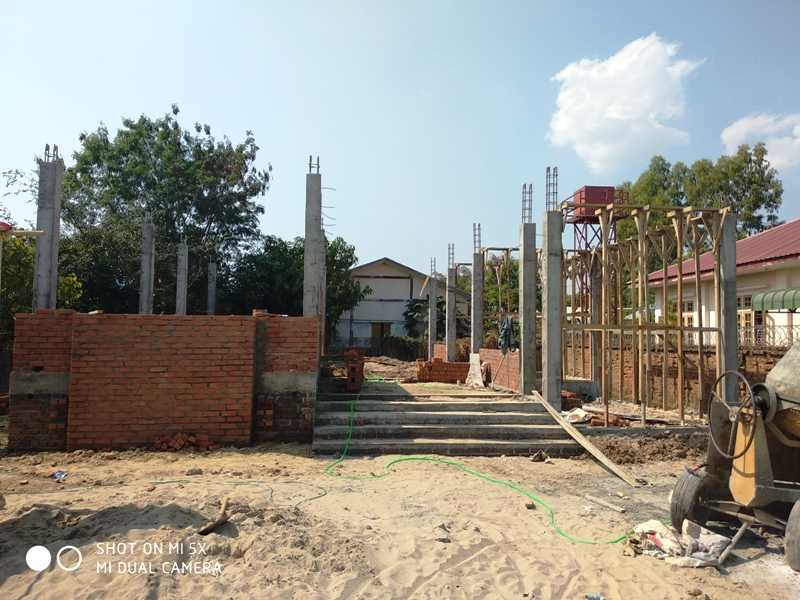 One Storey RC Building with 3 bed room (1432 sqft)