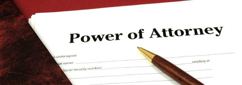 Power ရုပ္သိမ္းျခင္းႏွင့္ ျပန္လည္ရုပ္သိမ္းမရေသာ ကိုယ္စားလွယ္ လႊဲစာ