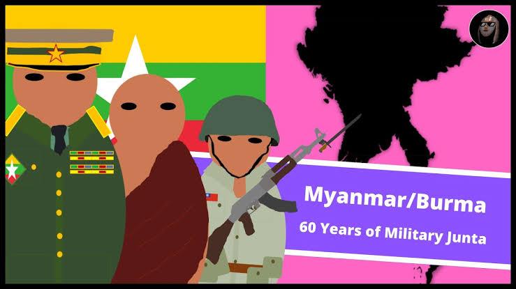 """""""ကာလရှည်ကြာ စစ်အုပ်ချုပ်ရေးအောက်က မြန်မာပြည်ရဲ့အဓိကအဖြစ်အပျက်များ"""""""